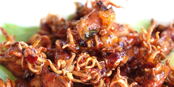 Crispy Baby Squid from Crab in Da Bag (Nassim) in Tanglin, Singapore