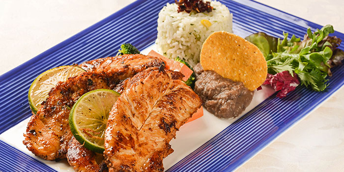 Adobo Chicken with Lime from Viva Mexico at Cuppage Terrace in Dhoby Ghaut, Singapore