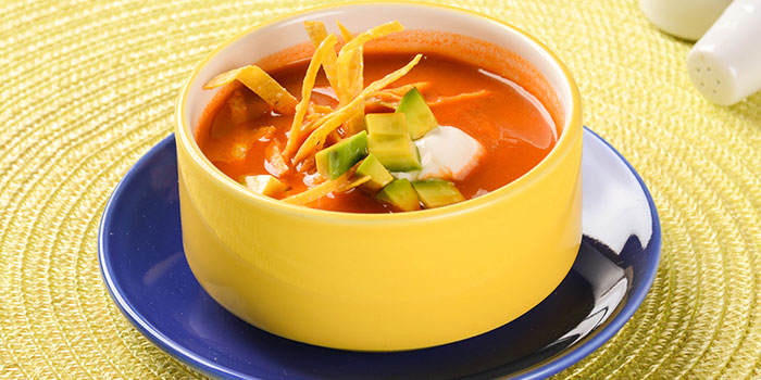 Tortilla Soup from Viva Mexico at Cuppage Terrace in Dhoby Ghaut, Singapore