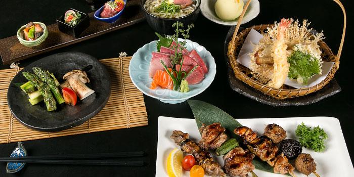 Sumiyaki Course from Yamazaki Japanese Restaurant in One Fullerton in Raffles Place, Singapore
