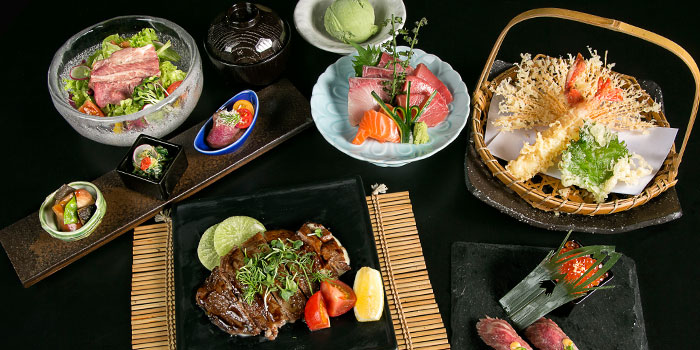 Wagyu Beef Set from Yamazaki Japanese Restaurant in One Fullerton in Raffles Place, Singapore