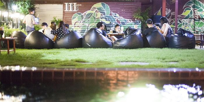 Yard of IfItIs at Thong Lo 23 Alley, Khlong Tan Nuea, Watthana, Bangkok