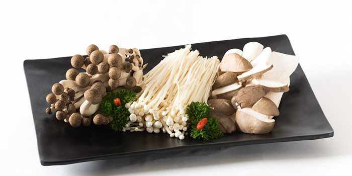 Mushroom Platter from Zheng Yuan Wei at Katong Square in East Coast, Singapore