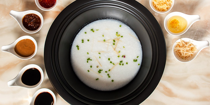 Porridge from Zheng Yuan Wei at Katong Square in East Coast, Singapore