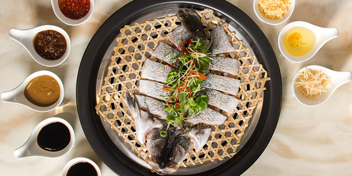 Sea Bass from Zheng Yuan Wei at Katong Square in East Coast, Singapore