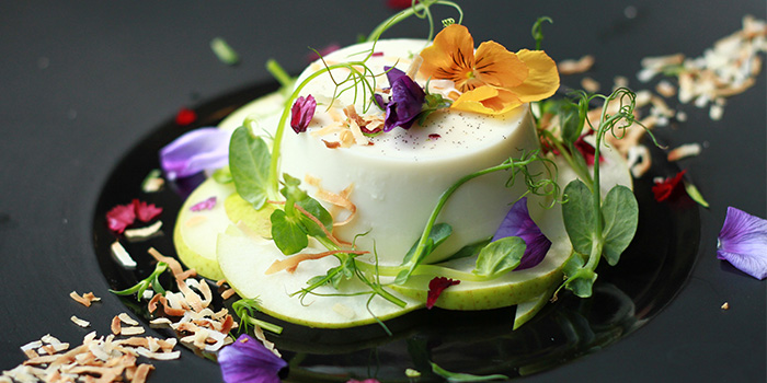 Lavender Panna Cotta from & Why in Bugis, Singapore