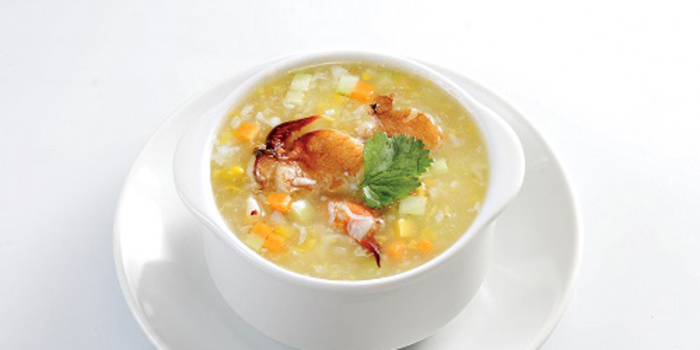 Braised Sweet Corn Soup at The Grand Duck King Signature