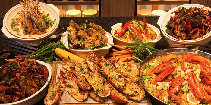 Seafood Spread from J65 @ Jen Tanglin at Hotel Jen in Tanglin, Singapore