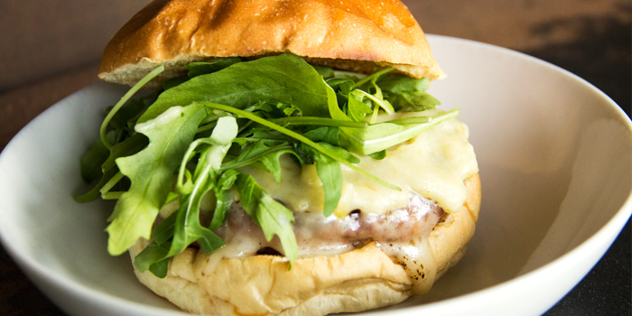 Pork Burger from Necessary Provisions in Bukit Timah, Singapore