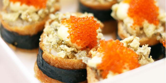 Crunchy Inari Sushi at Aoki Japanese Cuisine