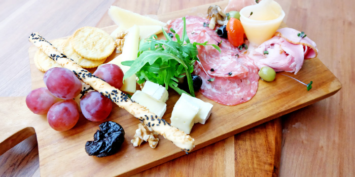 Antipasto Board from Bubbles Restaurant in Patong, Phuket, Thailand.