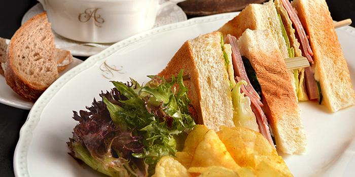 Honey Baked Ham Club Sandwich from Antoinette (Penhas Road) in Lavender, Singapore