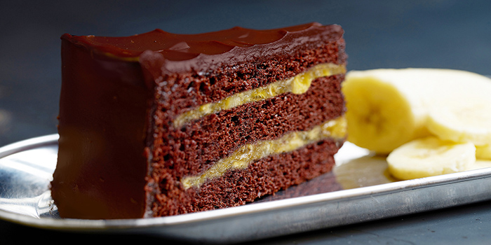 Chocolate Banana Cake from Awfully Chocolate (Greenwich V) in Yio Chu Kang, Singapore