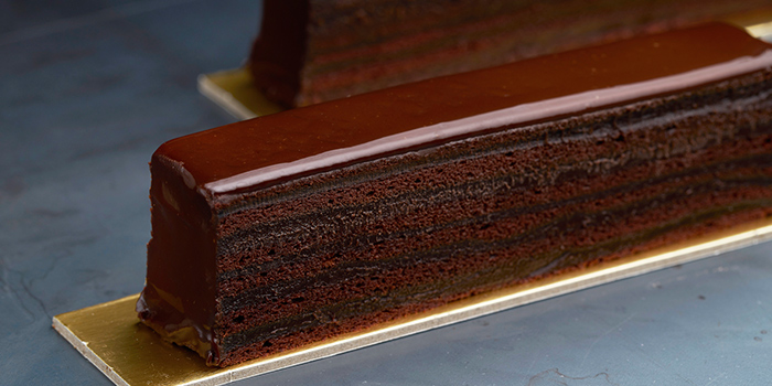 Super Stacked Chocolate Cake from Awfully Chocolate (Holland Village) in Holland Village, Singapore