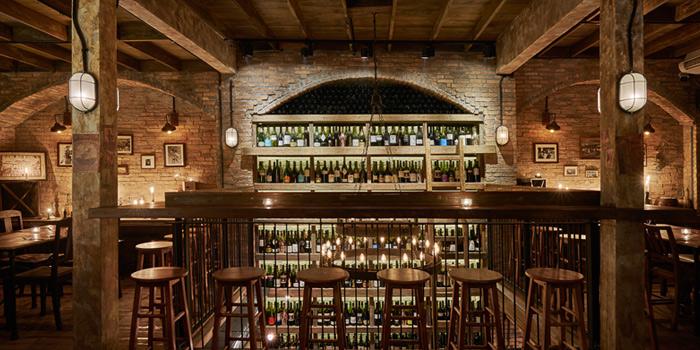 Bar from Cantina Wine Bar & Italian Kitchen in Soi Ari 3,  Bangkok