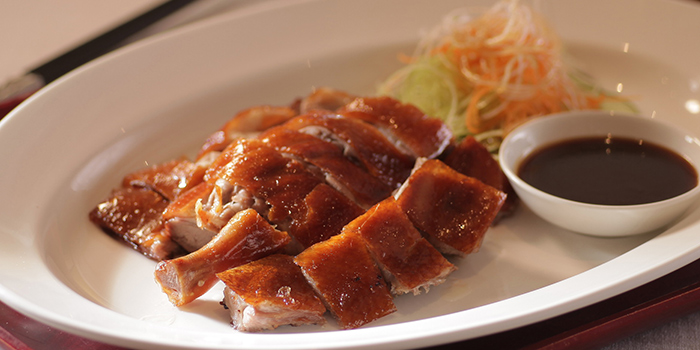 Barbecued Duck with Prune Sauce, Loong Yuen Cantonese Restaurant, Tsim Sha Tsui, Hong Kong