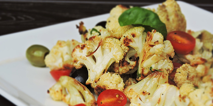 Roasted Cauliflower from Bella Pizza in Robertson Quay, Singapore