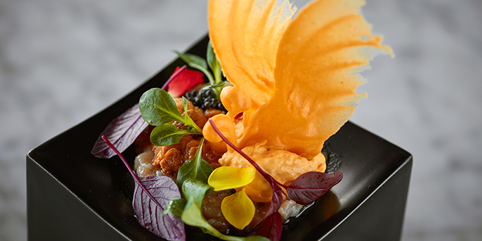 Butterfly Caviar with Sea Urchin, Felix, Tsim Sha Tsui, Hong Kong
