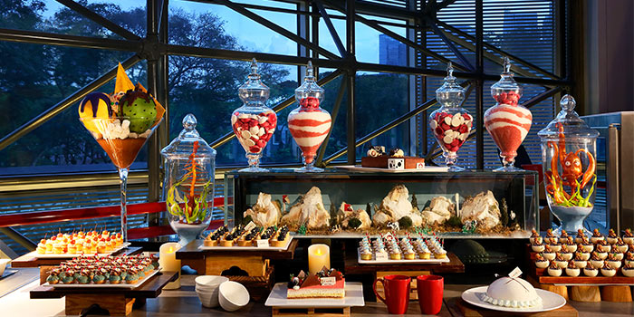 Desserts from Cafe Swiss in Swissotel The Stamford, Singapore