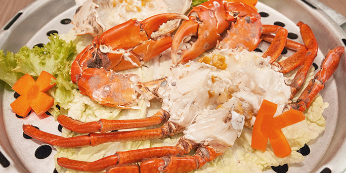 Crab from Captain K Seafood Tower (Prinsep Street) at Income@Prinsep in Dhoby Ghaut, Singapore