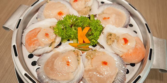 Scallops from Captain K Seafood Tower (Prinsep Street) at Income@Prinsep in Dhoby Ghaut, Singapore