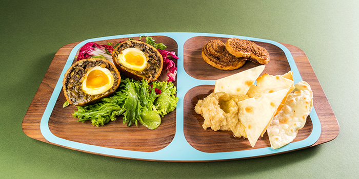 Lentil Soup Scotch Egg Plate from Crackerjack in Tanjong Pagar, Singapore