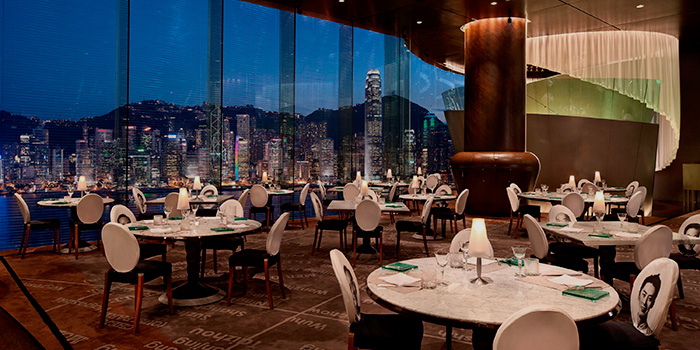 Dining Area of Felix, Tsim Sha Tsui, Hong Kong