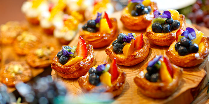 Desserts from Equinox Restaurant in Swissotel The Stamford, Singapore
