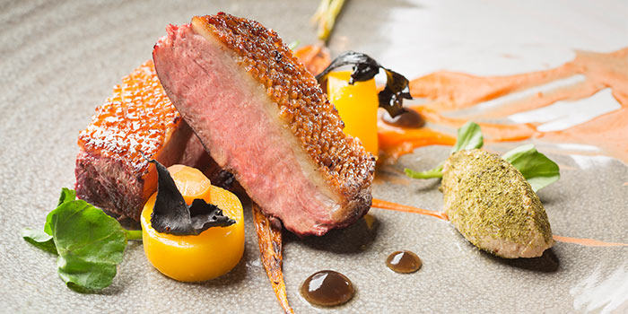Duck Breast from Equinox Restaurant in Swissotel The Stamford, Singapore