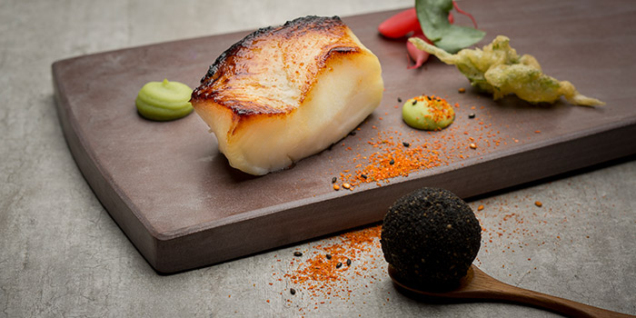 Miso Roasted Black Cod from Equinox Restaurant in Swissotel The Stamford, Singapore