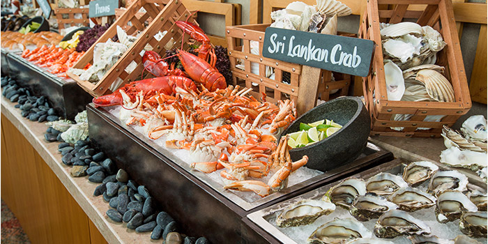 Seafood from Equinox Restaurant in Swissotel The Stamford, Singapore