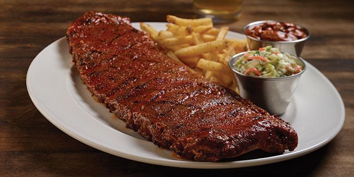 Pork Ribs at Hard Rock Cafe, Jakarta