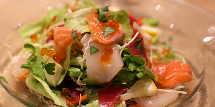 Bijin Salad from Inaniwa Yosuke in Wisma Atria Shopping Centre in Orchard Road, Singapore