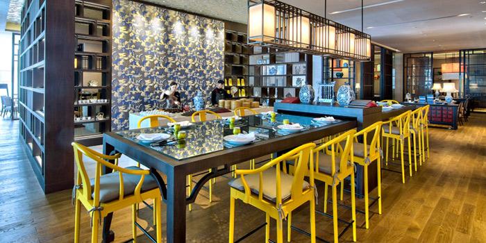 Interior of Cantina Wine Bar & Italian Kitchen in Soi Ari 3, Bangkok