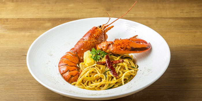 Lobster and Linguine from The Dock at The Maze Thonglor, Bangkok
