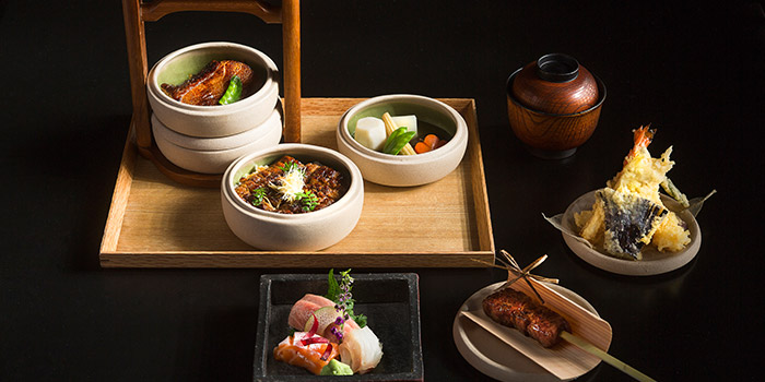 Premium Miyabi Bento Set from Mikuni in Fairmont Singapore, Singapore