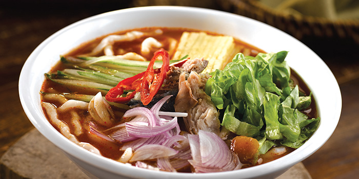 Penang Assam Laksa from Penang Culture (Changi Airport T2) in Changi, Singapore