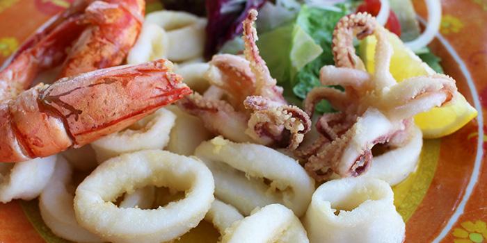 Deep Fried Squid & Prawns from Porta Porta Italian Restaurant in Changi, Singapore