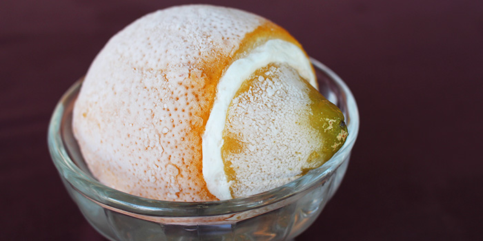 Lemon Sorbet from Porta Porta Italian Restaurant in Changi, Singapore