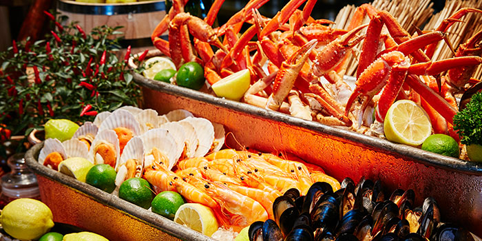 Seafood Bar of Prego at Fairmont Singapore in City Hall, Singapore