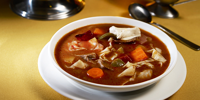 Borscht from Shashlik Restaurant at Far East Shopping Centre in Orchard, Singapore