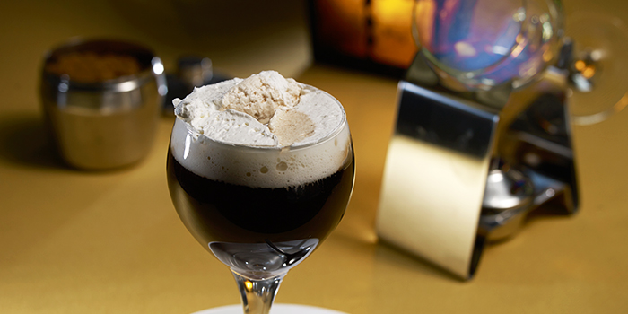 Irish Coffee from Shashlik Restaurant at Far East Shopping Centre in Orchard, Singapore