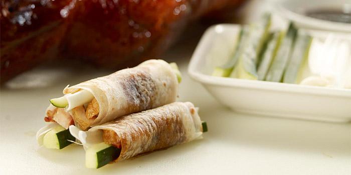Beijing Roast Duck from Silk Road Restaurant at Amara Hotel in Tanjong Pagar, Singapore