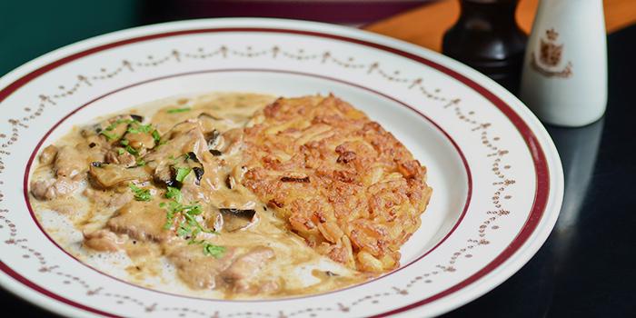 Sliced Veal with Mushrooms, Chesa, Tsim Sha Tsui, Hong Kong
