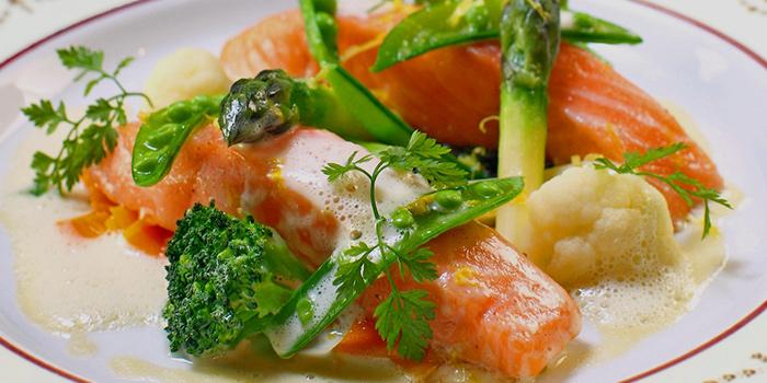 Slow Cooked Salmon, Chesa, Tsim Sha Tsui, Hong Kong