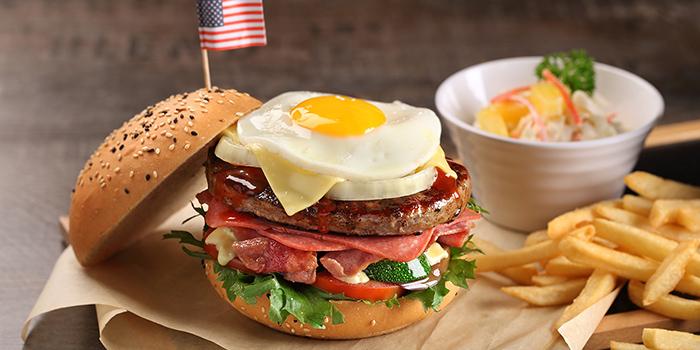 Mega Burger from Swensen