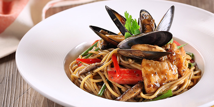 Seafood Pasta from Swensen