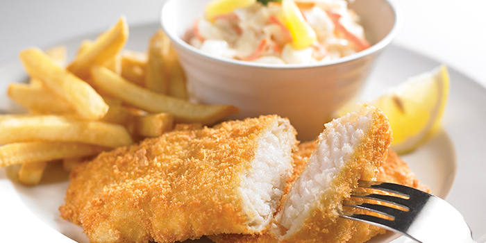 Fish & Chips from Swensen