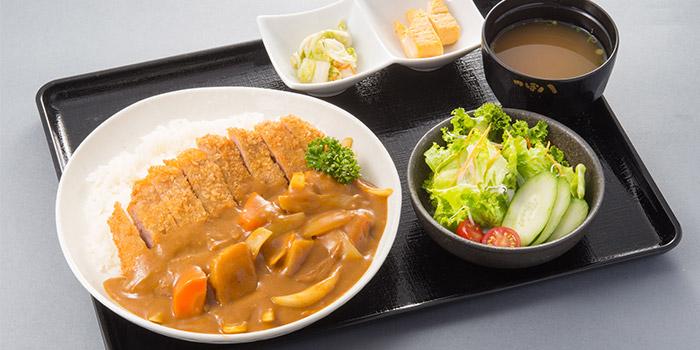Katsu Curry Rice from Tsubohachi Izakaya Hokkaido at Changi Airport Terminal 2 in Changi, Singapore