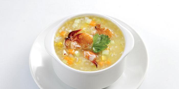 Braised Sweet Corn Soup at Duck King Jakarta